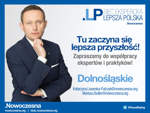 """W sieci eksperckiej """"Lepsza Polska"""" jest już 3000 osób."""