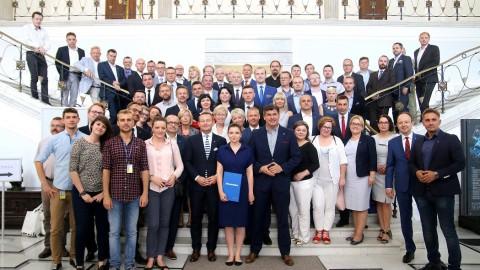 Spotkanie delegacji osób zaangażowanych w prace Sieci Eksperckiej