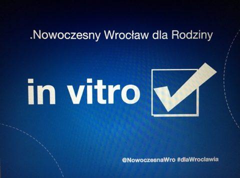 Nowoczesna: w styczniu In Vitro trafi pod obrady Rady Miejskiej