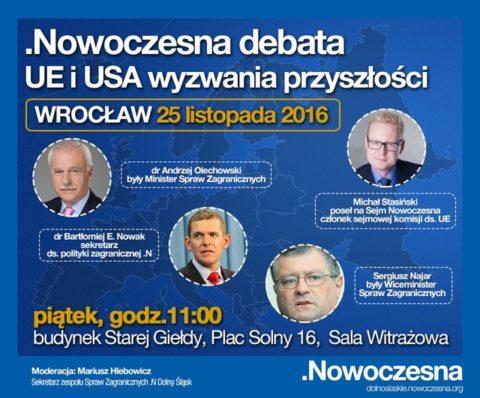 Debata na temat przyszłości Unii Europejskiej