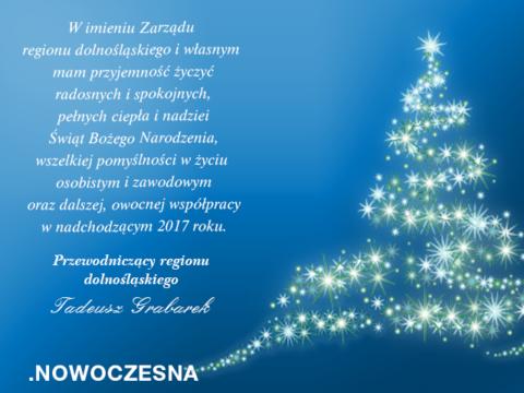 Dziękujemy za wspólnie spędzony rok – .Nowoczesna