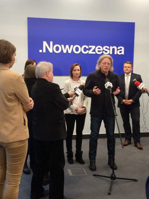 Konferencja prasowa poświęcona bieżącemu kryzysowi politycznemu