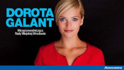 Dorota Galant wiceprzewodniczącą Rady Miejskiej Wrocławia