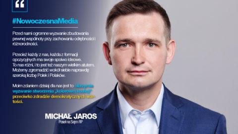 """Jaros: Stwórzmy """"kolorową koalicję"""" przeciw PiS"""