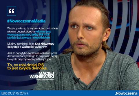 Wiśniewski: to, co robi PiS to zwykła demolka