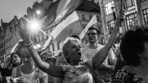 Wrocław Twierdzą Demokracji – pod pręgierzem