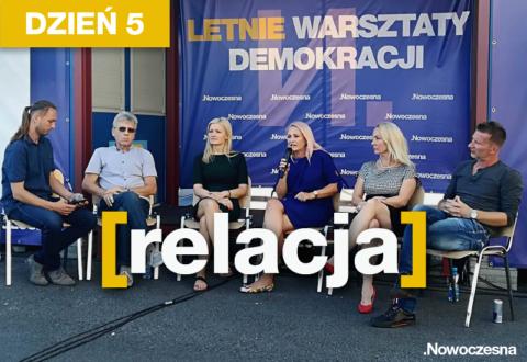 Relacja z 5. dnia Letnich Warsztatów Demokracji