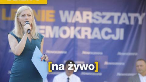Letnie Warsztaty Demokracji – dzień 8 – NA ŻYWO
