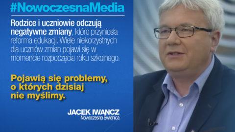 Iwancz: W szkołach pojawią się problemy, o których dzisiaj nie myślimy – #NowoczesnaMedia