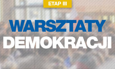 NA ŻYWO: Warsztaty Demokracji wracają w nowej formule