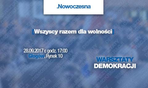 NA ŻYWO: Głogów – Warsztaty Demokracji dzień 41.
