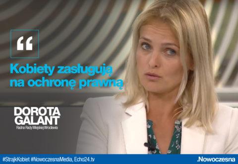 Galant: kobiety zasługują na szczególną ochronę
